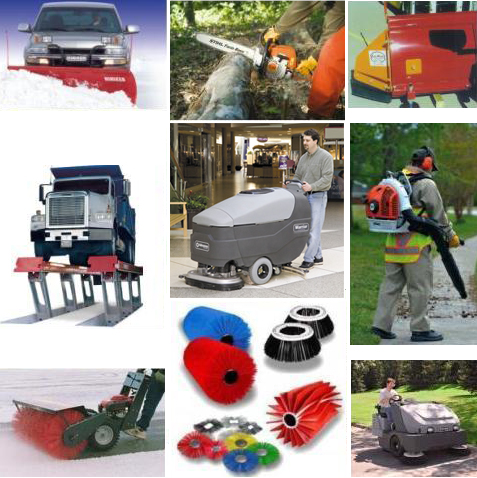 Maintenance Equipment and Supplies for Fleet, Facility, Street, Grounds and Landscaping Operations